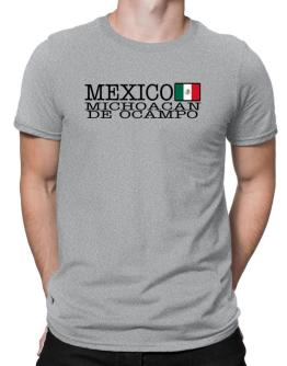 """ Michoacan De Ocampo - Flag "" Men T-Shirt"