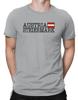 """ Steiermark - Flag "" Men T-Shirt"