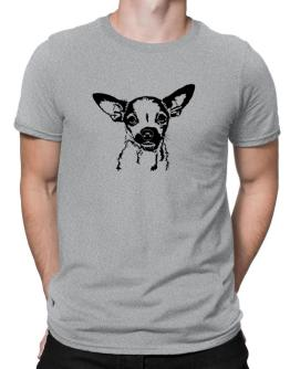 Chihuahua Face Special Graphic Men T-Shirt
