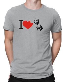 I love American Pit Bull Terriers Men T-Shirt