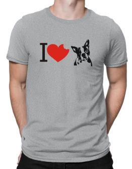 I love Boston Terriers Men T-Shirt