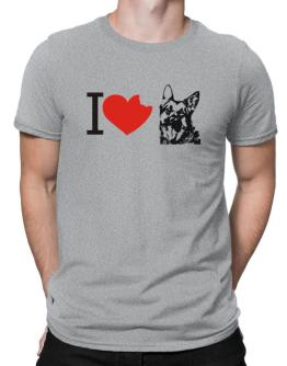 I love German Shepherds Men T-Shirt