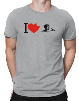 I love Rhodesian Ridgebacks Men T-Shirt