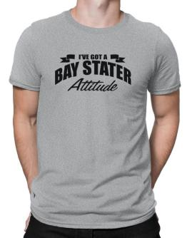 Bay Stater Attitude Men T-Shirt