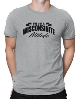 Wisconsinite Attitude Men T-Shirt