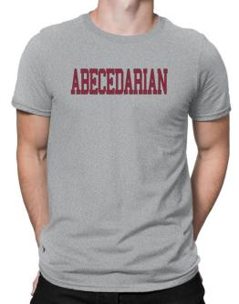 Abecedarian - Simple Athletic Men T-Shirt