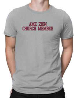 Ame Zion Church Member - Simple Athletic Men T-Shirt