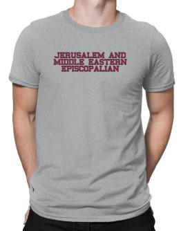 Jerusalem And Middle Eastern Episcopalian - Simple Athletic Men T-Shirt