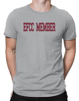 Efcc Member - Simple Athletic Men T-Shirt