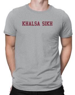 Khalsa Sikh - Simple Athletic Men T-Shirt