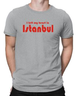 I Left My Heart In Istanbul Men T-Shirt