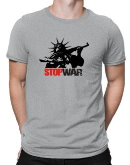 Statue Of Liberty : Stop War Men T-Shirt