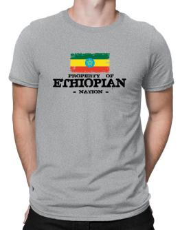 Property of Ethiopian Nation Men T-Shirt