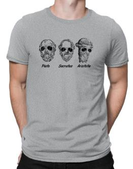 Socrates Old Funny Philosophy Men T-Shirt
