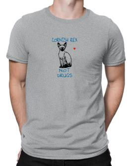 Cornish Rex not drugs Men T-Shirt