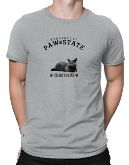 Property by paw state Chartreux Men T-Shirt