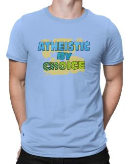 Atheistic By Choice Men T-Shirt