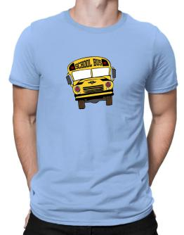 School Bus Men T-Shirt