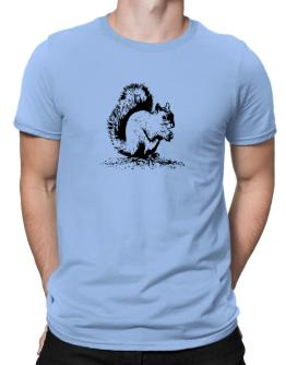 Squirrel sketch Men T-Shirt
