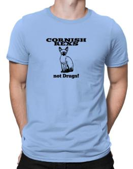Cornish Rexs not drugs Men T-Shirt