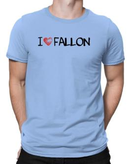 I love Fallon 2 Men T-Shirt