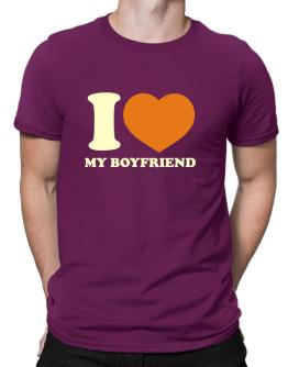 I Love My Boyfriend Men T-Shirt