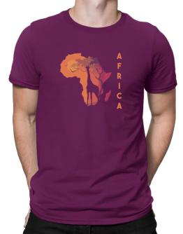 Africa map cool design Men T-Shirt