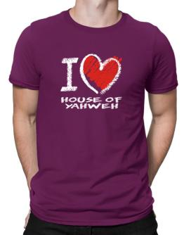 I love House Of Yahweh chalk style Men T-Shirt