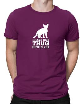 I have one thug Devon Rex Men T-Shirt