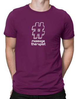 Playeras de Hashtag Massage Therapist