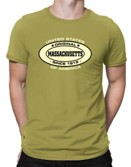 Original Massachusetts Since Men T-Shirt
