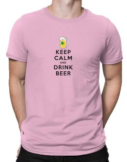 Keep calm and drink beer Men T-Shirt