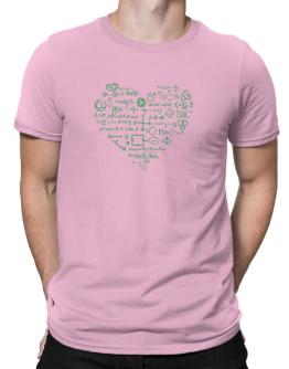 I heart math Men T-Shirt