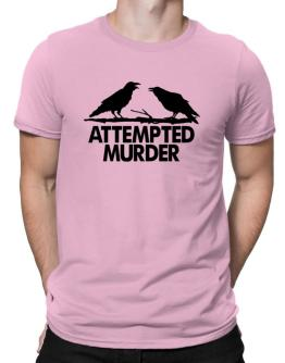 Crows Attempted Murder Men T-Shirt