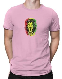 Lion rasta hair Men T-Shirt