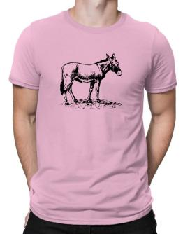 Donkey sketch Men T-Shirt