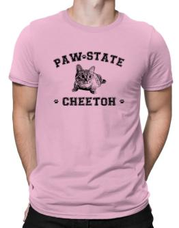 Paw state Cheetoh Men T-Shirt