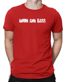 Drum And Bass - Simple Men T-Shirt