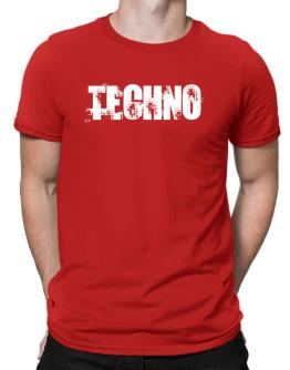 Techno - Simple Men T-Shirt