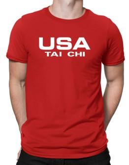 Usa Tai Chi / Athletic America Men T-Shirt