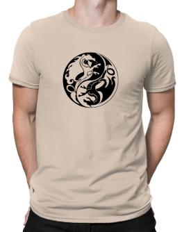 Polo de Ying Yang Dragon