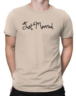 Just married Men T-Shirt