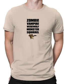 Squirrel Zombie Men T-Shirt
