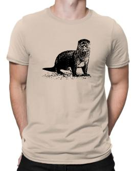 Otter sketch Men T-Shirt