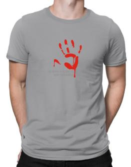 No More A Victim Of Your Cowardice Men T-Shirt