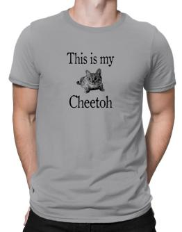 This is my Cheetoh Men T-Shirt
