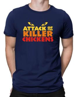Attack Of The Killer Chickens Men T-Shirt