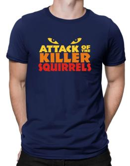 Attack Of The Killer Squirrels Men T-Shirt