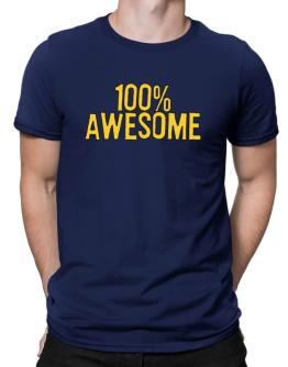 100% Awesome Men T-Shirt