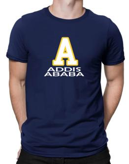 """ Addis Ababa - Initial "" Men T-Shirt"